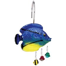 Sea Life Shower Curtain Hooks (Set of 12)