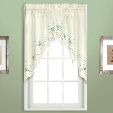 Rachael Rod Pocket Swag Curtain Valance
