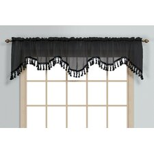 Monte Carlo Rod Pocket Scalloped Curtain Valance