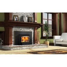 Osburn 2000 Wood Burning Insert with Faceplate Trim Kit