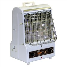 1,500 Watt Radiant Cabinet Combination Forced Space Heater