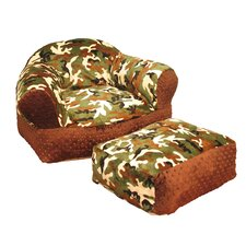 Camoflage Kid's Club Chair