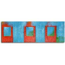 "Hand Painted Modern Oil Painting ""Iced Tea"" Canvas Wall Art"