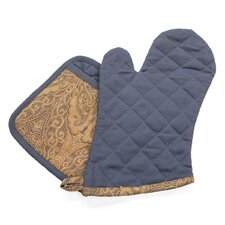 Heritage Oven Mitt and Potholder (Set of 2)