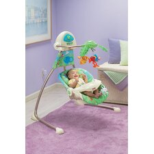 Rainforest Open Top Cradle Swing