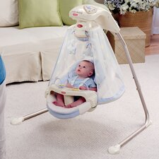 Papasan Baby Cradle Swing