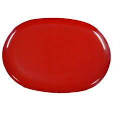 Calypso Basics Oval Tray in Red