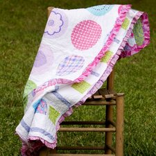 Snapdragon Quilted Throw
