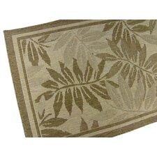 Palm Island Chocolate Novelty Rug