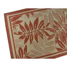 Palm Island Terracotta Novelty Rug