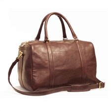 "16"" Leather Travel Duffel"