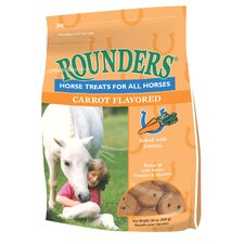 Carrot Rounders Horse Treat