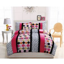 Dani Dot Hot Comforter Set