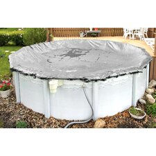 Platinum Winter Round Above Ground Pool Cover