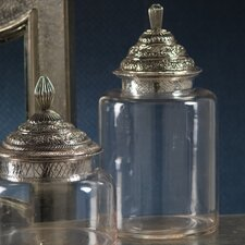 Morocco Glass Canister