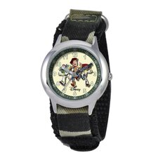 Kid's Toy Story Time Teacher Watch in Green