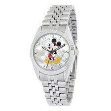 "Mens ""Mickey Mouse"" Bracelet Watch"
