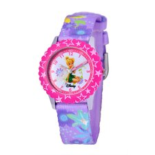 Girl's Tinker Bell Time Teacher Watch