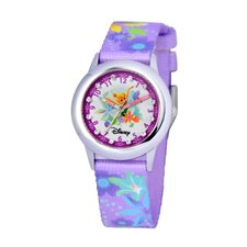 Girl's Glitz Tinker Bell Time Teacher Watch