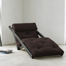 Fresh Futon Figo with Wenge Frame in Chocolate