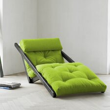 Fresh Futon Figo with Wenge Frame in Lime