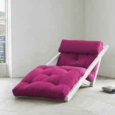 Fresh Futon Figo with White Frame in Pink