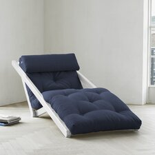 Fresh Futon Figo with White Frame in Navy