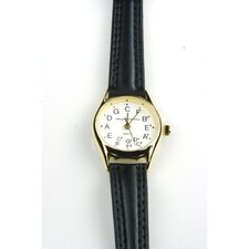 Ladies' Deluxe Chromatic Watch in Black