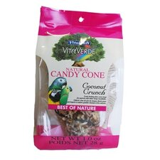Coconut Natural Candy Cone Bird Treat