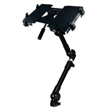 Car Holder for iPad 3-Way Tripod Head Dual Arm Adjustable in BlackTray
