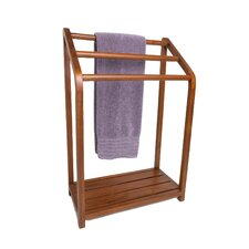 Spa Teak Towel Stand