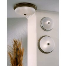 Classic Scavo 1 Light Semi Flush Mount
