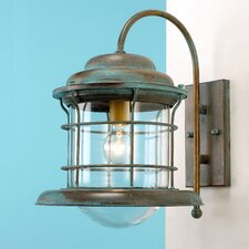 Caravela 1 Light Outdoor Wall Lantern