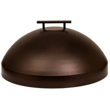 "Casual Fireside Metal Cover for 20"" Round Burner"