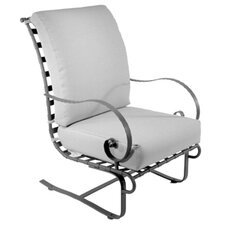 Classico Hi-Back Spring Base Club Chair with Cushion