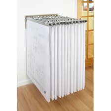 Wall Rack with 12 Pivot Hangers