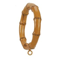 Bamboo Curtain Ring (Set of 4)
