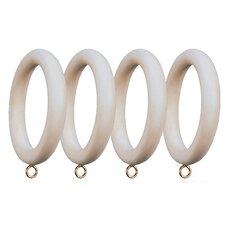 Compatible Smooth Drapery Ring (Set of 4)