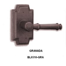 Granada Decorative Passage Lever in Bronze
