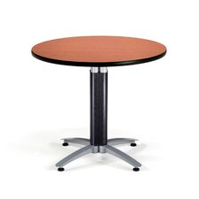 "Multi-use 29.5"" x 36"" Round Table with Mesh Base"