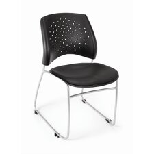 Star Stack Chair Vinyl Seat