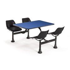 "30"" x 48"" Group/Cluster Table and Chairs with Laminate Tops"