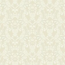 French Dressing Lace Rococo Wallpaper