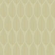 Candice Olson Dimensional Surfaces Pressed Leaf Wallpaper