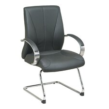 ProLine II Deluxe Leather Visitors Chair