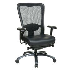 ProGrid High Back Leather Chair
