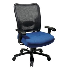 Space Seating High-Back Double AirGrid Big and Tall Office Chair