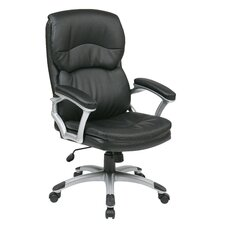 Eco Leather Executive Office Chair with Arms