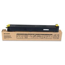 Sharp MX31NTYA Toner, 15,000 Page-Yield, Yellow