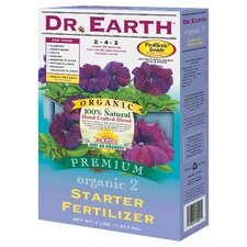 Organic Starter Fertilizer (4 Lbs)